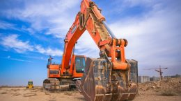 bulldozer, construction, dirt